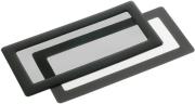 demciflex dust filter 2x40mm square black black photo