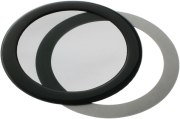 demciflex dust filter 92mm round black black photo