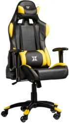 serioux gaming chair x gc01 2d y black yellow photo