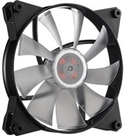 coolermaster masterfan pro 140 air flow rgb 140mm 3in1 with rgb led controller photo