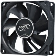 deepcool xfan 80 black case fan 80mm photo