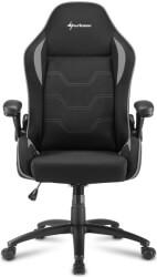 sharkoon elbrus 1 gaming chair black grey photo