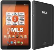 tablet mls life 101 ips quad core 16gb wifi bt gps android 60 black photo