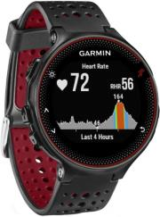 sportwatch garmin forerunner 235 hrm black marsala red photo