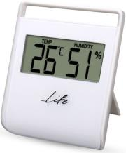life wes 102 digital indoor thermometer with hygrometer photo