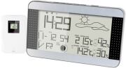 alecto ws 1700 weather station black silver photo