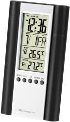 fiesta 43569 lcd weather station wired sensor black photo
