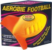 aerobie football kitrino portokali photo