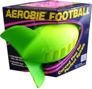 aerobie football prasino kitrino photo