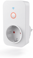hama 176565 wifi socket with integrated current measuring device 3680 w 16 a photo