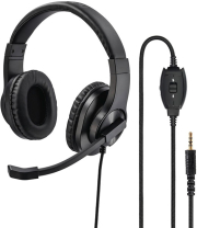 hama 139926 hs p350 pc office headset stereo black photo