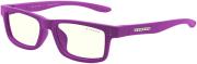 gaming glasses gunnar cruz kids small magenta clear natural photo
