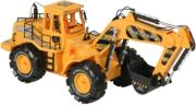 fun2get remote controlled excavator rec49c036 yellow photo