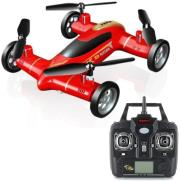 syma flying car x9 24g 4 channel with gyro red photo