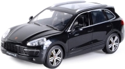 rc car porsche cayenne s 1 14 with license black photo