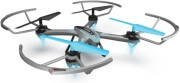 quad copter diyi d16 24g gyro one key return grey turquoise photo