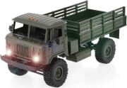 rc gaz 66 russian military truck 1 16 wpl b24r 4x4 green