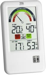 tfa 303045it bel air wireless thermo hygrometer with ventilation tip photo