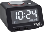 tfa 60201701 homtime digital alarm clock photo