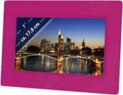braun digiframe 709 7 photo frame pink photo