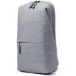 xiaomi mi city sling bag light grey photo