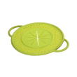 hama 111558 boil over safeguard made of silicone round 21 cm green photo