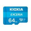 kioxia lmex1l064gg2 exceria 64gb micro sdxc uhs i u1 with adapter photo