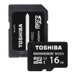 toshiba m203 16gb micro sdhc uhs i 100mb s with sd card adapter photo