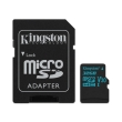 kingston sdcg2 32gb canvas go 32gb micro sdhc class 10 uhs i u3 v30 sd adapter photo