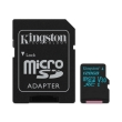 kingston sdcg2 128gb canvas go 128gb micro sdxc class 10 uhs i u3 v30 sd adapter photo