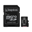 kingston sdcs2 64gb canvas select plus 64gb micro sdxc 100r a1 c10 card sd adapter photo
