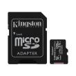 kingston sdcs2 128gb canvas select plus 128gb micro sdxc 100r a1 c10 card sd adapter photo