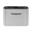 kingston wfs sd workflow dual slot sd reader usb 32 gen 1 photo