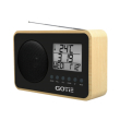 gotie gra 110c fm radio digital tuning with alarm clock photo