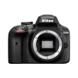 nikon d3400 body black photo
