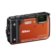 nikon coolpix w300 orange photo