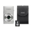 canon ixus 190 silver essential kit photo