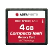 agfaphoto compact flash 4gb high speed 120x mlc photo