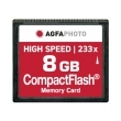 agfaphoto compact flash 8gb high speed 233x mlc photo