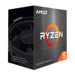 cpu amd ryzen 5 5600x 460ghz 6 core with wraith stealth box photo