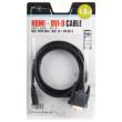 natec nka 0419 hdmi cable m to dvi dm 18m gold photo