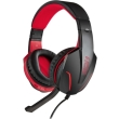 nod g hds 001 gaming headset with adjustable microphone and red led photo