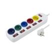 esperanza elk101 5 way socket with separate switch rainbow 5 pro photo