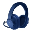 logitech g433 71 surround gaming headset blue photo