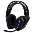 logitech g733 lightspeed wireless rgb gaming headset black photo