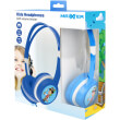 maxxter act mhp jr kids headphones with volume limiter blue photo