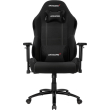 akracing core ex wide gaming chair black photo