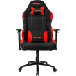 akracing core ex wide gaming chair black red photo