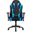 akracing core ex wide se gaming chair black blue photo