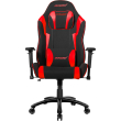 akracing core ex wide se gaming chair black red photo